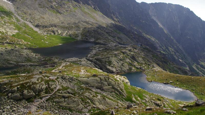 Dolina Pieciu Stawów Spiskich.