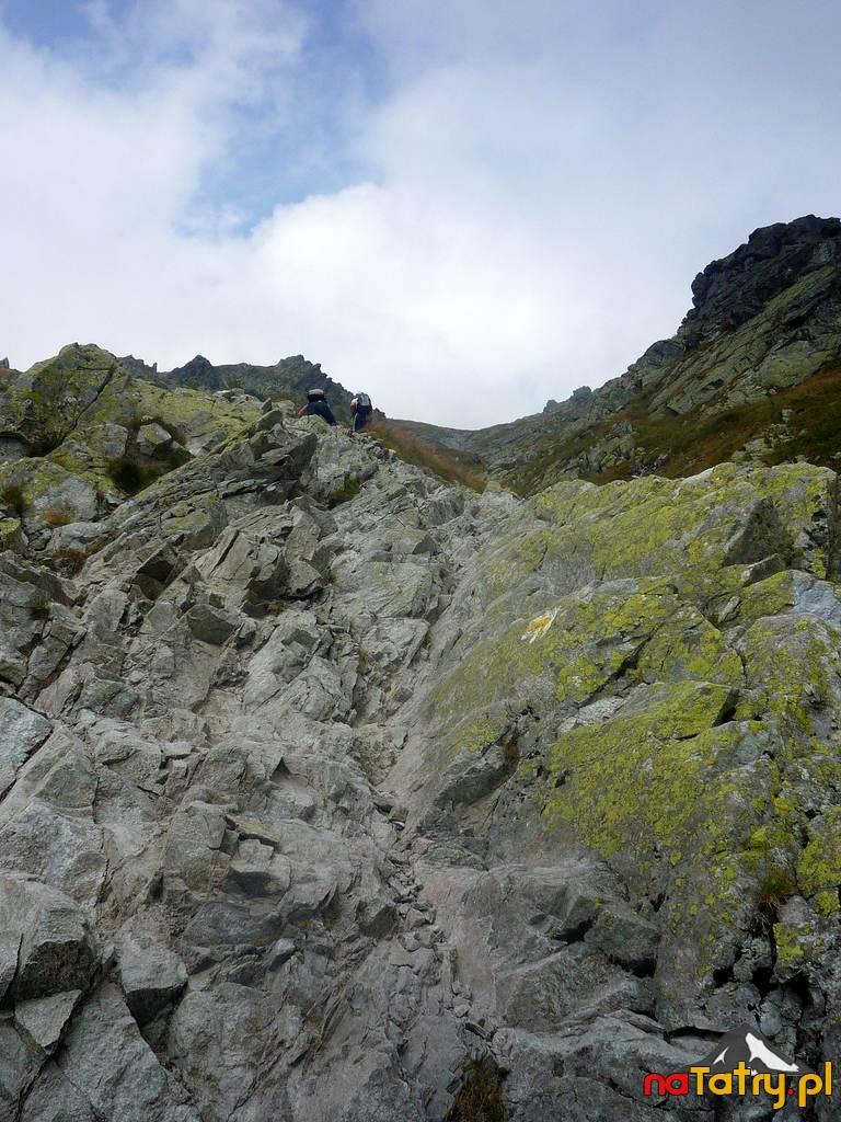 Ciekawe formacje skalne na szlaku