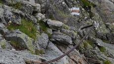 Zejście ze Skrajnego Granatu.