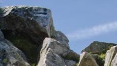 Kolejny próg skalny do  przejścia.