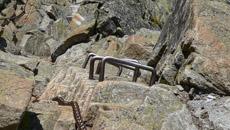 Czeka nas trudne zejście na Kozią Przełęcz Wyżnią.