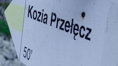Na Kozią Przełęcz.