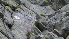 Rynna skalna do przejścia.