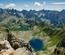 Widok ze Świnicy na Doline 5 Stawó