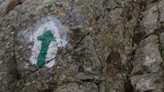 Kilka formacji skalnych do przejścia.