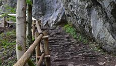 Podejście do jaskini.