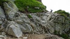 Intrygująca formacja skalna do pokonania.