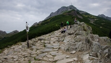 Przełęcz Kondracka .